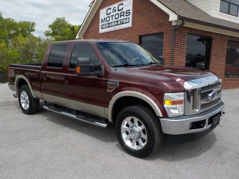 2010 Ford F-250 Super Duty for sale at C & C MOTORS in Chattanooga TN