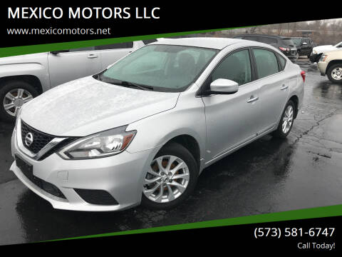 2018 Nissan Sentra for sale at MEXICO MOTORS LLC in Mexico MO