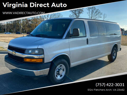 2012 Chevrolet Express Passenger for sale at Virginia Direct Auto in Virginia Beach VA