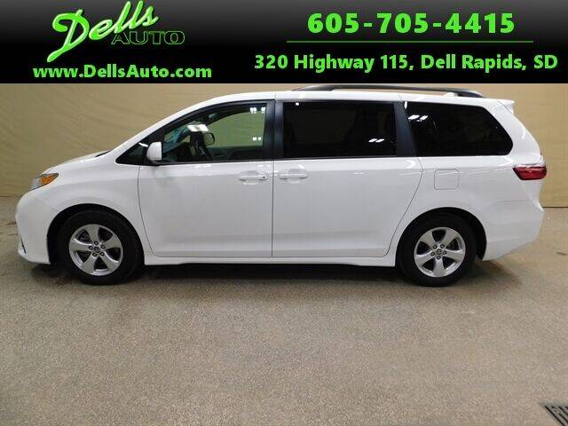 2020 Toyota Sienna for sale at Dells Auto in Dell Rapids SD