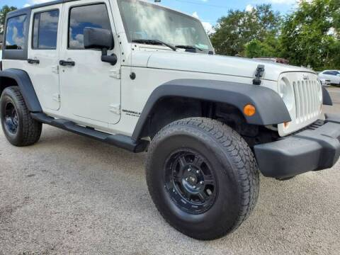 2009 Jeep Wrangler Unlimited for sale at Rodgers Wranglers in North Charleston SC