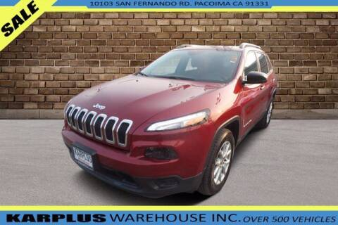 2017 Jeep Cherokee for sale at Karplus Warehouse in Pacoima CA