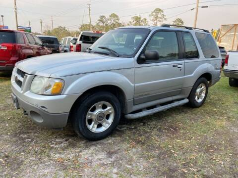 2002 Ford Explorer Sport for sale at Right Price Auto Sales in Waldo FL