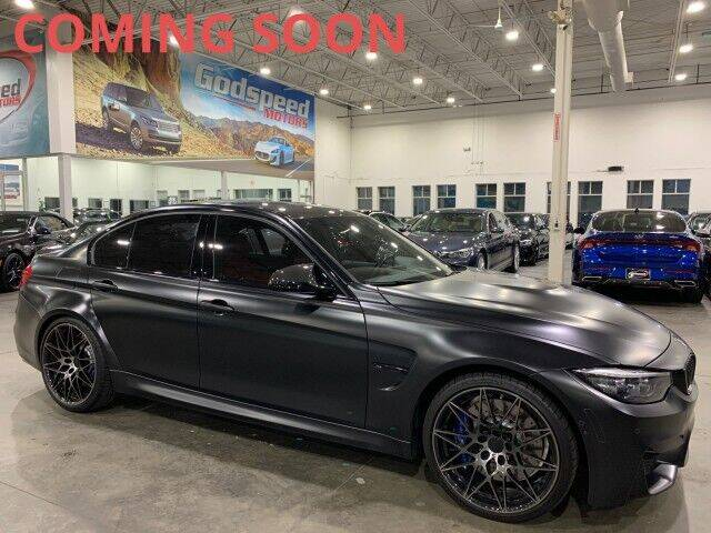 2018 BMW M3 for sale at Godspeed Motors in Charlotte NC