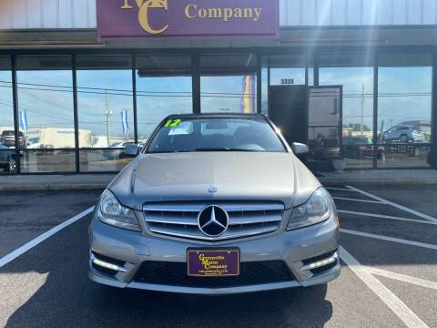 2012 Mercedes-Benz C-Class for sale at DRIVEhereNOW.com in Greenville NC