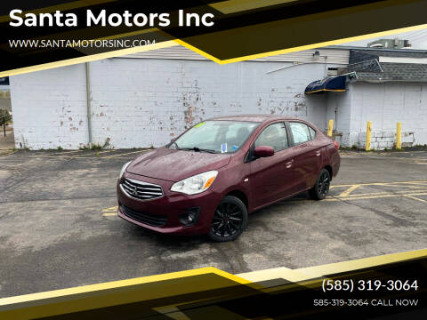 2018 Mitsubishi Mirage G4 for sale at Santa Motors Inc in Rochester NY