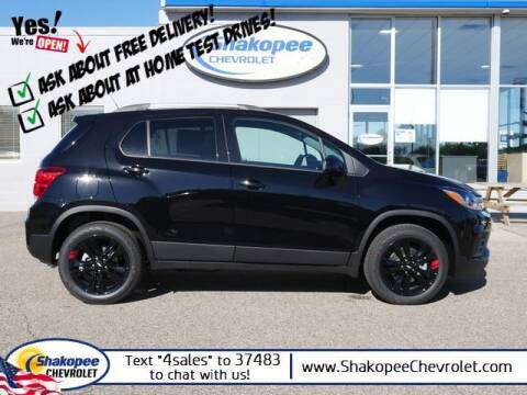 2021 Chevrolet Trax for sale at SHAKOPEE CHEVROLET in Shakopee MN