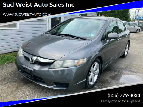 2010 Honda Civic for sale at Sud Weist Auto Sales Inc in Maple Shade NJ