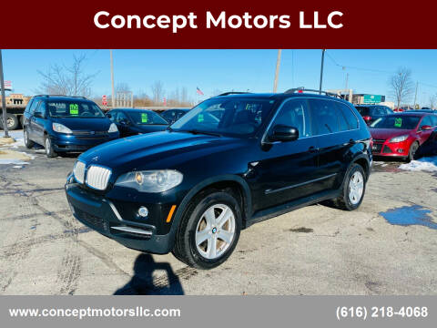 2008 BMW X5 for sale at Concept Motors LLC in Holland MI