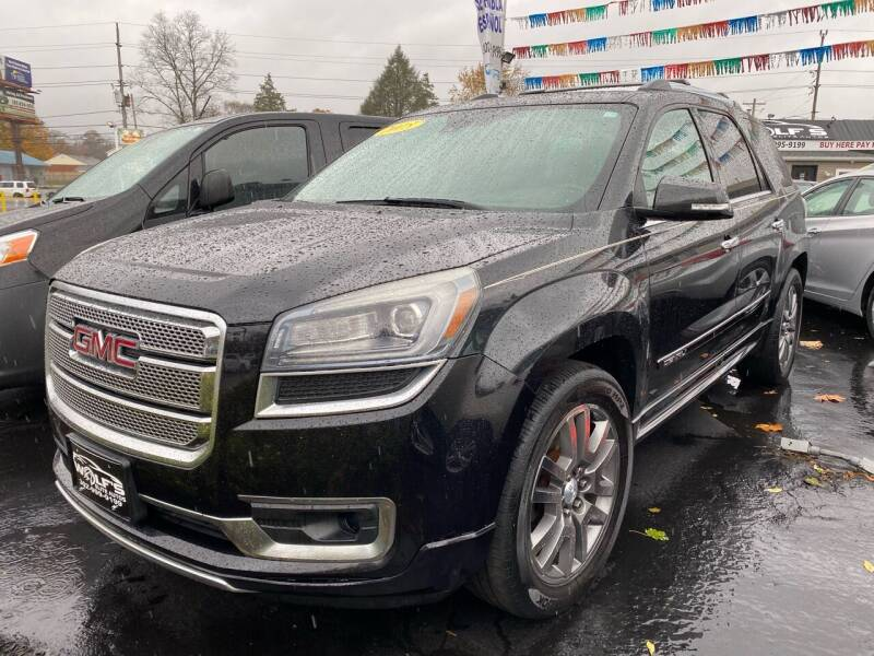 2015 GMC Acadia for sale at WOLF'S ELITE AUTOS in Wilmington DE