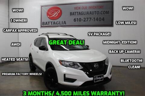 2018 Nissan Rogue for sale at Battaglia Auto Sales in Plymouth Meeting PA