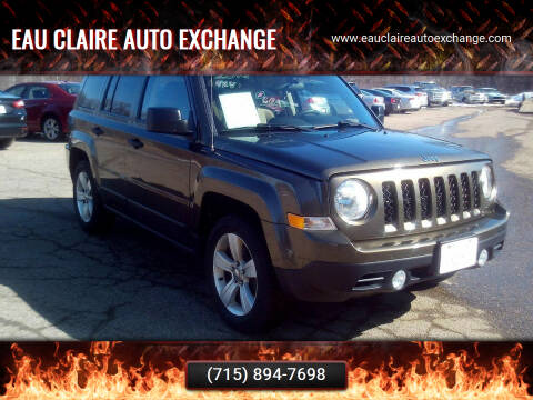 2015 Jeep Patriot for sale at Eau Claire Auto Exchange in Elk Mound WI