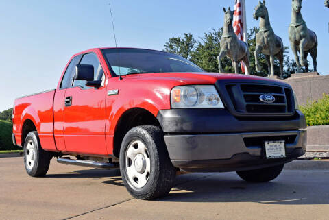 2006 Ford F-150 for sale at European Motor Cars LTD in Fort Worth TX