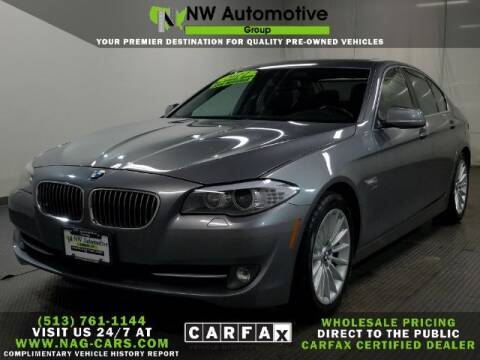 2011 BMW 5 Series for sale at NW Automotive Group in Cincinnati OH