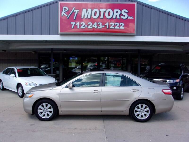 2007 Toyota Camry for sale at RT Motors Inc in Atlantic IA