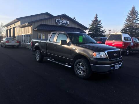2007 Ford F-150 for sale at Crown Motor Inc in Grand Forks ND
