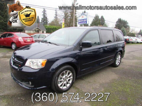 2012 Dodge Grand Caravan for sale at Hall Motors LLC in Vancouver WA