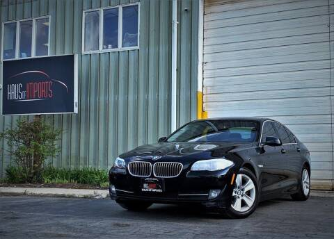 2013 BMW 5 Series for sale at Haus of Imports in Lemont IL