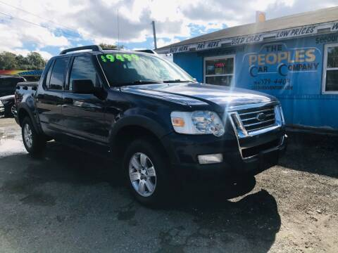 2008 Ford Explorer Sport Trac for sale at The Peoples Car Company in Jacksonville FL