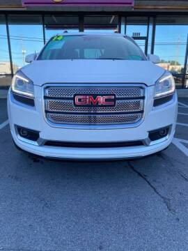 2014 GMC Acadia for sale at Greenville Motor Company in Greenville NC