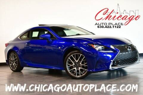 2016 Lexus RC 300 for sale at Chicago Auto Place in Bensenville IL
