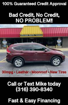 2013 Honda CR-V for sale at Affordable Mobility Solutions, LLC - Standard Vehicles in Wichita KS