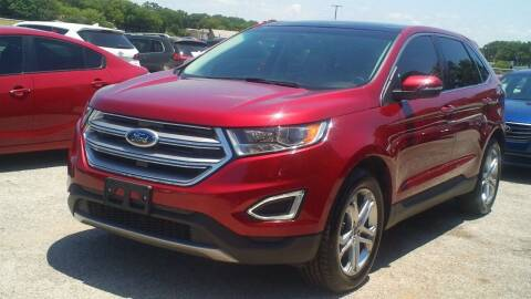 2015 Ford Edge for sale at Global Vehicles,Inc in Irving TX