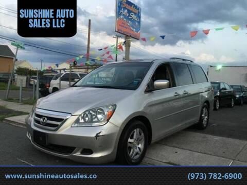 2005 Honda Odyssey for sale at SUNSHINE AUTO SALES LLC in Paterson NJ