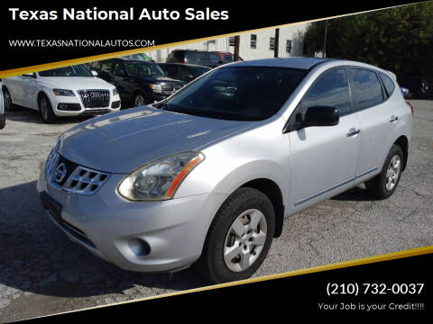2013 Nissan Rogue for sale at Texas National Auto Sales in San Antonio TX