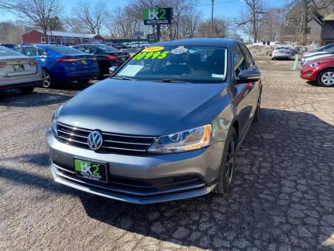 2015 Volkswagen Jetta for sale at BK2 Auto Sales in Beloit WI