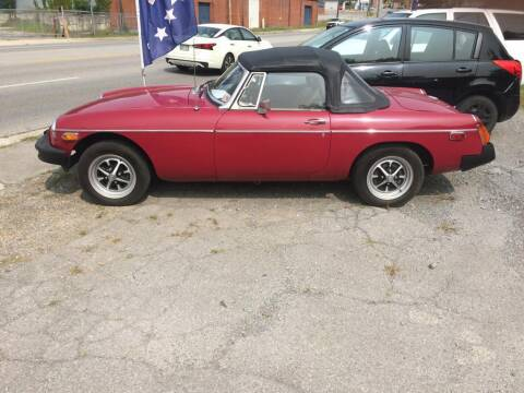 1978 MG Midget for sale at Abingdon Auto Specialist Inc. in Abingdon VA