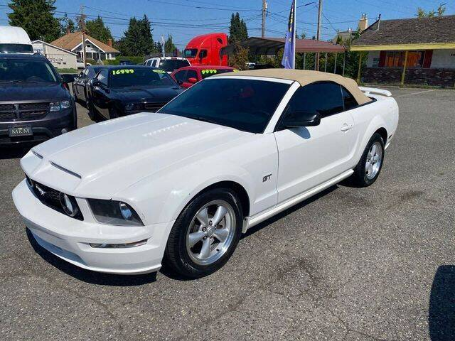 2007 Ford Mustang for sale at MK MOTORS in Marysville WA