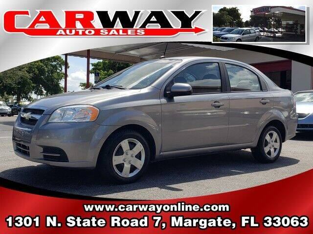 2009 Chevrolet Aveo for sale at CARWAY Auto Sales in Margate FL