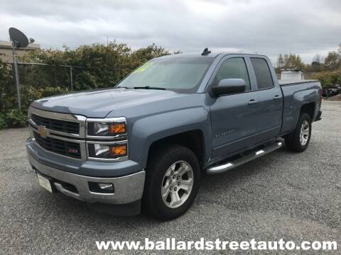 2015 Chevrolet Silverado 1500 for sale at Ballard Street Auto in Saugus MA