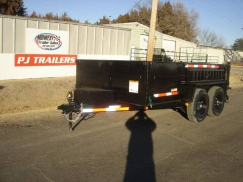 2021 CARRY ON 7 X 12 DUMP for sale at Midwest Trailer Sales & Service in Agra KS