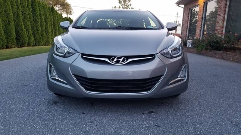 2014 Hyundai Elantra for sale at Kingdom Autohaus LLC in Landisville PA