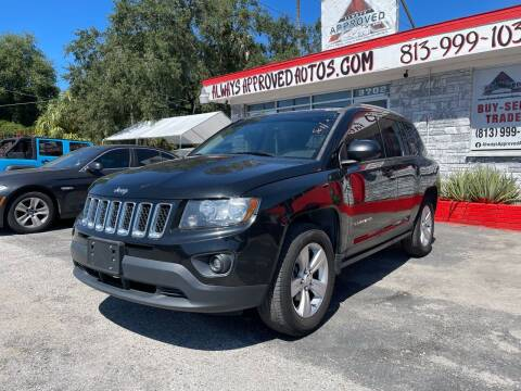 2016 Jeep Compass for sale at Always Approved Autos in Tampa FL