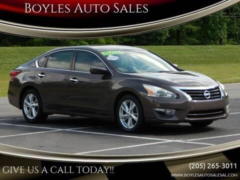 2013 Nissan Altima for sale at Boyles Auto Sales in Jasper AL