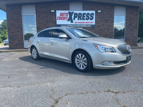 2015 Buick LaCrosse for sale at Auto Credit Xpress in Benton AR