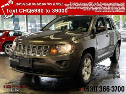 2016 Jeep Compass for sale at CERTIFIED HEADQUARTERS in Saint James NY
