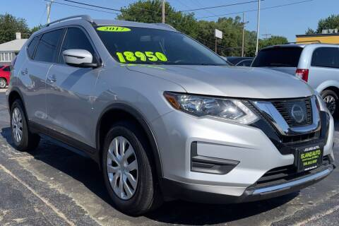 2017 Nissan Rogue for sale at Island Auto in Grand Island NE
