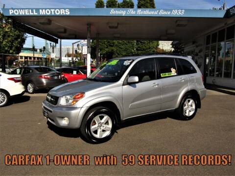 2005 Toyota RAV4 for sale at Powell Motors Inc in Portland OR