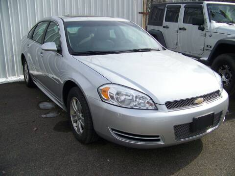 2013 Chevrolet Impala for sale at Collector Car Co in Zanesville OH