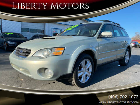 2005 Subaru Legacy for sale at Liberty Motors in Billings MT