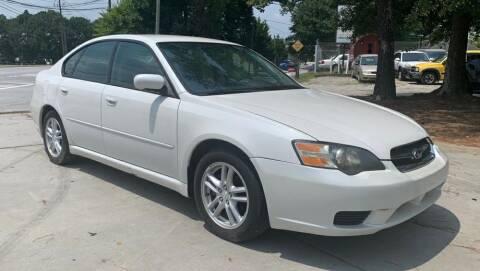 2005 Subaru Legacy for sale at Cobalt Cars in Atlanta GA