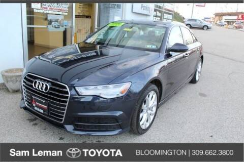 2018 Audi A6 for sale at Sam Leman Toyota Bloomington in Bloomington IL