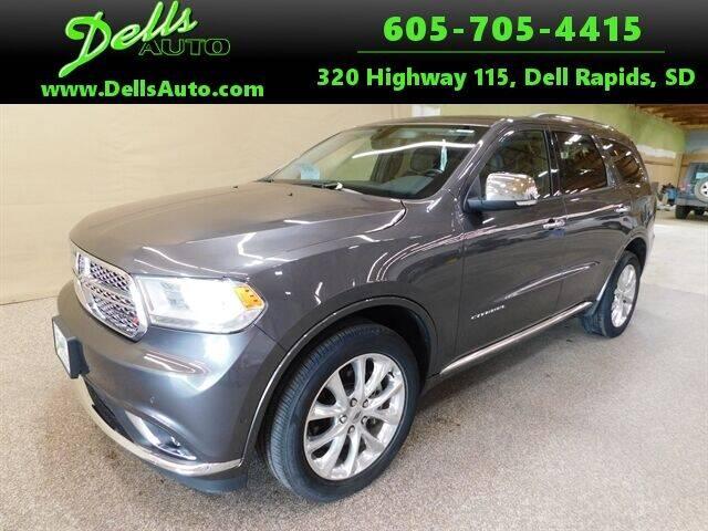 2020 Dodge Durango for sale at Dells Auto in Dell Rapids SD