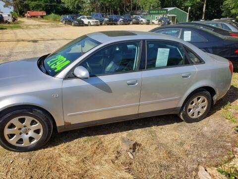 2002 Audi A4 for sale at Northwoods Auto & Truck Sales in Machesney Park IL