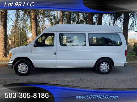1998 Ford E-Series Cargo for sale at LOT 99 LLC in Milwaukie OR