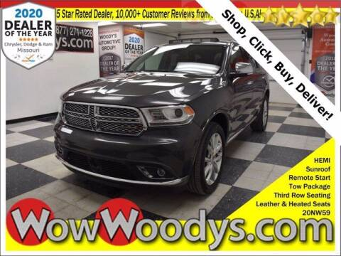 2020 Dodge Durango for sale at WOODY'S AUTOMOTIVE GROUP in Chillicothe MO